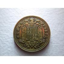 Moneda España 1 Peseta 1953 Francisco Franco Caudillo Boedo