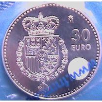 Spg España 30 Euros 2014 ( Felipe Vi ) Nuevo Rey Plata.