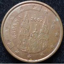 España 1 Centavo Euro Año 2002..................... Blamanan