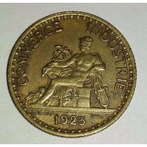 Moneda Francia 1925 Bon Pour 1 Franc - Chambres De Commerce