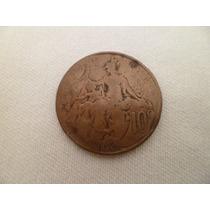 ººº Francia Antigua 10.- Centimes Año 1898 ººº #743