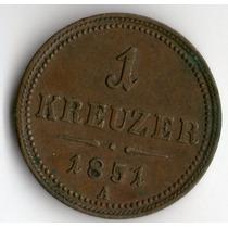 Spg - Austria ( Imp. Austro Hungaro ) 1 Kreuzer 1851 A.