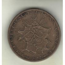 Francia Moneda De 10 Francos Año 1977 Km 940 - Muy Buena+