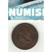 Francia Moneda De 1 Centime 1849 A Km 754 - Sin Circular-