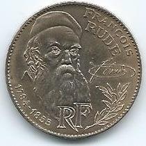 Moneda De Francia 10 Francos 1.984 François Rude S/c
