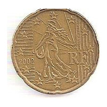 Francia 20 Centavos De Euro