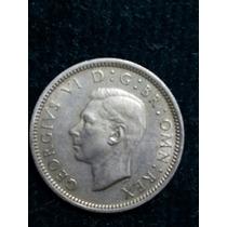 Moneda Inglaterra 1949 / 6 Pence Ref P5-9