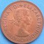 Spg - Gran Bretaña 1 Penny 1967 ( Elizabeth Ii ).
