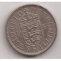 Gran Bretaña Moneda 1 Shilling Año 1965