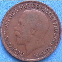 Spg - Gran Bretaña 1 Penny 1915 ( Jorge V ).