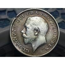 Moneda Inglaterra Six.pence 1918 Ref C61