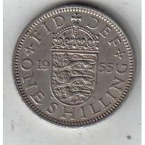 Gran Bretaña 1 Shilling Año 1955 !!!
