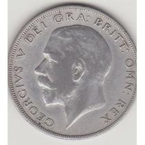 Inglaterra,half Crown 1922,plata