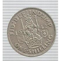 Inglaterra 3 Pence 1942 Plata