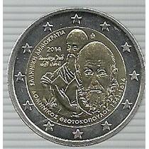 Grecia 2 Euros 2014