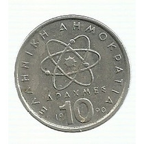 Grecia 10 Dracma 1990