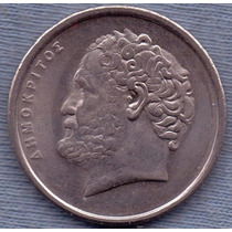 Grecia 10 Drachmai 1994 * Democritus *