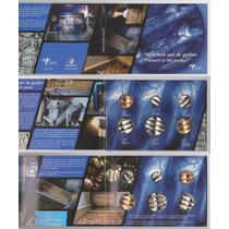 Holanda: Juego De 6 Monedas Destruidas - Ciao Florín! (2002)