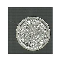 Holanda 10 Centavos 1915