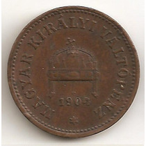 Hungria, 2 Filler, 1904. Vf-