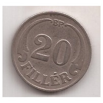 Hungria Moneda De 20 Filler Año 1926