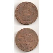Moneda Hungria Harom 3 Krajczar 1849 Rara Y Antigua