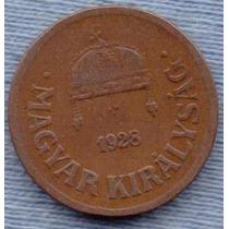 Hungria 2 Filler 1928 * Regencia Almirante Horth *