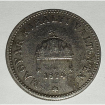 Moneda Hungria 20 Filler 1894