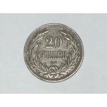 20 Filler 1907. Moneda De Hungría..