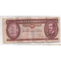 Hungria Billete De 100 Forint Año 1975 Pick 171 E !