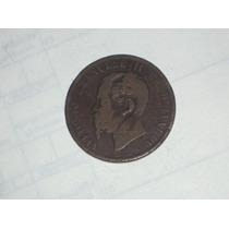 Moneda Italiana 10 Centésimi Año 1867..