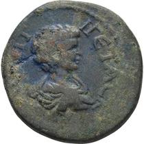 Antigua Moneda Imperio Romano Geta (205 D.c.)