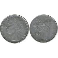 Moneda 100 Liras Italianas 1979