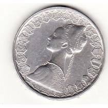 Italia,500 Liras 1961-plata