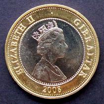 Gibraltar - Moneda Bimetálica 2 Libras 2008 - Bat. Trafalgar