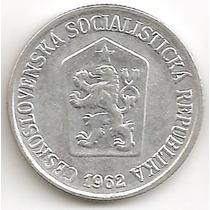 Chekoslovaquia Socialista, 10 Haleru, 1962. Au / Unc