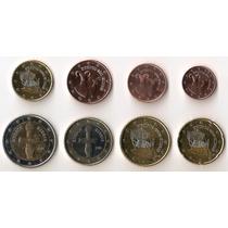 Chipre, Serie Completa Euro, 8 Monedas, 2008/2011. Bu