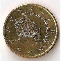 Chipre, 50 Euro Cents, 2008. Brillante Sin Circular