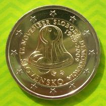 Eslovaquia - Moneda 2 Euros 2009 - 20º Aniv. Democr. ¡ S/c!