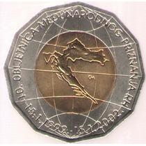 Croacia 25 Kuna 2002 Bimetalica S/c