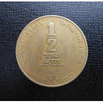 Moneda Israel 1/2 Sheqel 1985