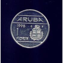 Moneda De Aruba 1 Florin Arubeño 1995