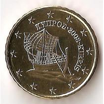 Chipre, 10 Euro Cents, 2008. Brillante Sin Circular
