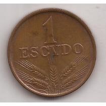 Portugal Moneda De 1 Escudo Año 1975 !!!