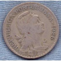 Portugal 1 Escudo 1928 * Republica * Rara *