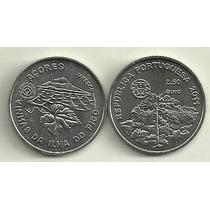 Moneda Portugal 2,5 Euro Año 2011 Azores Isla De Pico