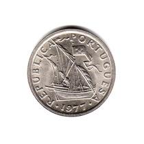Moneda Portugal 2,5 Escudos 1977 Km#590 Sin Circular