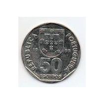 Portugal 50 Escudos Año 1999 S/c C/n Mm 1185
