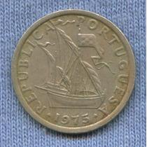 Portugal 2 1/2 Escudos 1975 * Oferta !!!!! * Embarcacion *