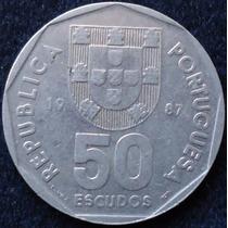 Portugal - 50 Escudos Año 1987.................... Blamanan